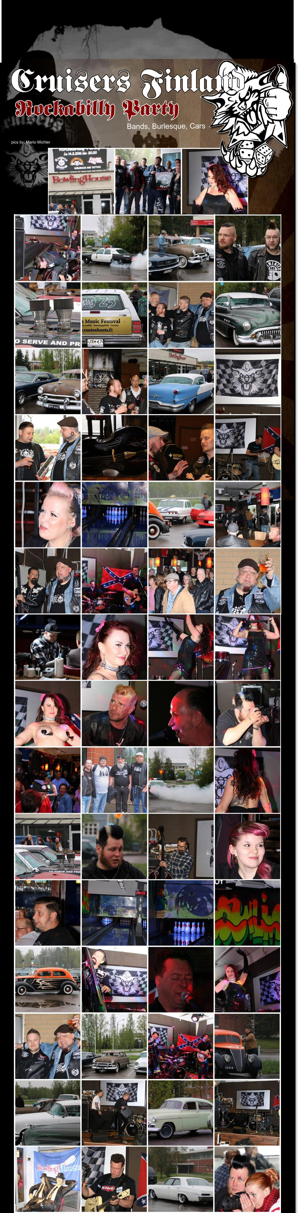 Rockabilly Party pics by: Mario Michler Bands, Burlesque, Cars  Cruisers Finland